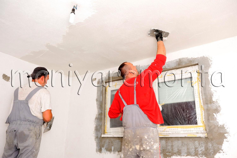 Фото потолков в квартире своими руками